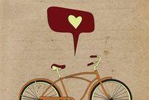 Bike & Love - Bici & Amore / Amore a apedali. //// Per vedere le nostre bici in vendita / To see our bikes on sale: http://laciclografica.wordpress.com/gallery-bici-vintage/