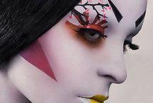 Avant garde Make-up