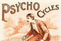 Vintage bicycle posters / Un'immersione nella pubblicità dei secoli passati. ///// Per vedere le nostre bici in vendita / To see our bikes on sale: http://laciclografica.wordpress.com/gallery-bici-vintage/