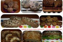Gluténmentes & Paleo Kenyerek / Gluténmentes & Paleo Kenyerek Gluten-free & Paleo Breads