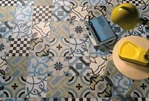 new old tiles