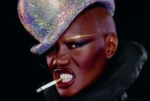 Grace Jones /   grace jones', whose cross-dressing trailblazing and new wave crooning, in the 80s paved the way for the likes of rihanna and gaga, celebrates a birthday this week. the singer, actor and former model isn't known nearly enough for her moody, monotone vocal stylings as she is for her fierce, fabulous persona.