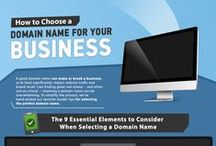 Domain Name Guidelines / iBeFound's input on choosing an appropriate domain name for your business and finding a well-qualified domain registrar to secure it.
