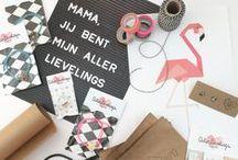 Allerlievelings - Giftwrapping / Al onze producten worden altijd leuk ingepakt! Bijna zonde om open te maken ;) Op pinterest doen we veel leuke nieuwe ideeën op.