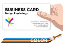 Business Card Design / iBeFound's selection of visual guides on business card design.