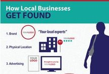 Local Business Marketing / iBeFound's selection of visual guides on local business marketing.