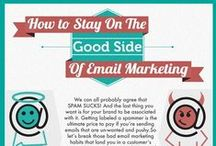 Email Marketing / iBeFound's selection of visual guides on email marketing.