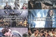 Fandoms / Harry Potter, Lost, Hunger Games, Maze Runner, Once Upon a Time, Divergent...AND TOLKIEN!!!!