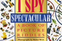I SPY / The award-winning children's book series of picture puzzles and vocabulary-building riddles.