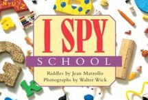 I SPY Readers / The award winning I SPY books for level 1 readers filled with read-and-seek picture puzzles to solve for ages 4 - 8.