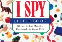 I SPY Board Books / The award winning I SPY books for younger search-and-finders ages 3 - 5.