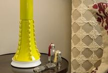 A Pop of Color / table lamps