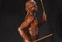 Bronze Sculptures - Abstracts / Abstact bronze sculptures which explore form through gesture and reflected light.