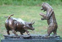 Bronze Sculptures - Animals / Sarah Richards has a range of limited edition animal bronze sculptures on offer.
