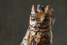 Bronze Bird Sculptures / Bronze Bird Sculptures by Sarah Richards, Nottingham Road, South Africa