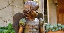 Bronze Sculpture - Fairy Princess / Bronze Sculpture of a Fairy Princess, 850 x 400  x 520mm Edition 10