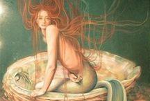 Mermaids / by Diane Abdo