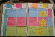Plan Book by wisewittyteacher.blogspot.com / POST-IT NOTE PLAN BOOK by Victoria Wise