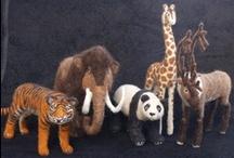Precious AnimalMix / Cute Animals - made of Felt, Fabric, Wool
