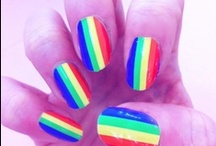 RAINBOW RAVE / Our Rainbow inspired board ! / by Rebel Nails