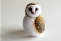 Precious Felts - Birds: Owls / Hoot Hoot in Felt