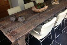 Eettafel/tuintafel & buitenkeuken