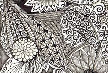 Art - Zentagle / The Zentangle design