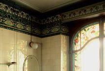 Art nouveau bathroom / Szecesszió, Jugendstil