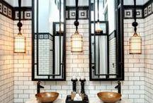 art deco bathroom / art deco style bathrooms