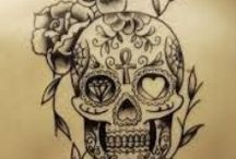 Tattoo - Calaveras / tattoo - calaveras - mexican skulls