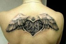 Tattoo - hearts / tattoo heart cuori