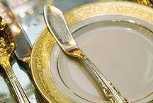Tableset elegant & formal / tablesets