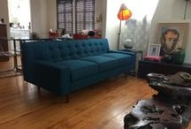 Custom Sofa Or Sectional. Leather Or Fabric.
