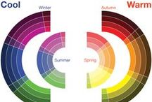 Colorimetria / The best colours for each type of woman: spring, summer, autumn, winter.