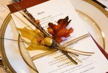 Autumn tableset / decoration