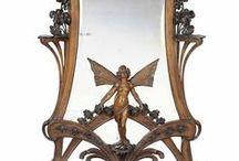 art nouveau furniture / art nouveau furniture