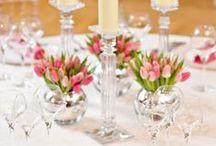 Spring tableset / decor