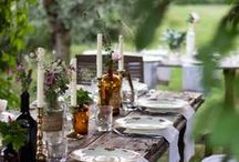 Outdoor tableset / decor
