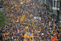2012 Catalan Independence demonstration / A protest march which occurred in central Barcelona in Catalonia, on 11 September 2012. The protestors demanded the independence of Catalonia and its consolidation as a sovereign state. The number of participants was estimated at about 1.5 million according to Barcelona's Municipal Police and Catalonia's Department of the Interior, about 2 million according to the organizers, and about 600,000 according to the delegation of the Spanish government in Catalonia