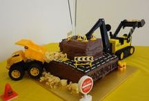 Digger Party for a two year old. / A party for my digger obsessed two year old!