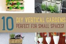 Vertical Garden Inpiration / Backyard DIY Vertical Garden inspirations to the the latest innovations on a wide scale.