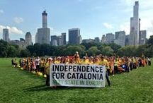 Catalan V Around the World / Catalan V in different locations worldwide