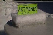 ArtMoneys by Frank Tomozy / ArtMoney produced by the danish artist Frank Tomozy.