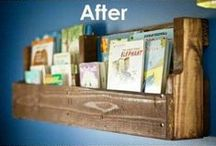 Everything about books... / Bookshelves, bookmarks, ...