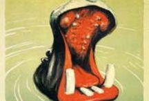 Danske vintage plakater / Reklameplakater