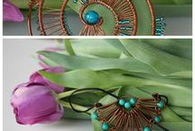 Handmade necklaces by DeaJewelryStore / These necklaces are all handmade. You can by them in my Etsy shop. I hope you love them, and please fave them on ETSY. :)