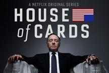 House Of Cards / Série de tv americana da Netflix sobre a Casa Branca.