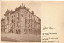 Hungarian Masonic Lodge  Houses / Magyar szabadkőműves páholyházak