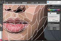 Digital draw/sketch/tips / Dibujo digital