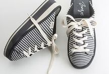 footwear collection 2018 / zenzee / Zenzee | Knit kicks that warm your heart & sole. Stripes, mules, lace-up, slip-on cushy platform sneaker shoes — perfectly on trend for 2018!